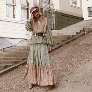 Spell & the Gypsy City Lights maxi skirt